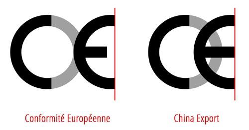 Znak CE i znak China Export różnice